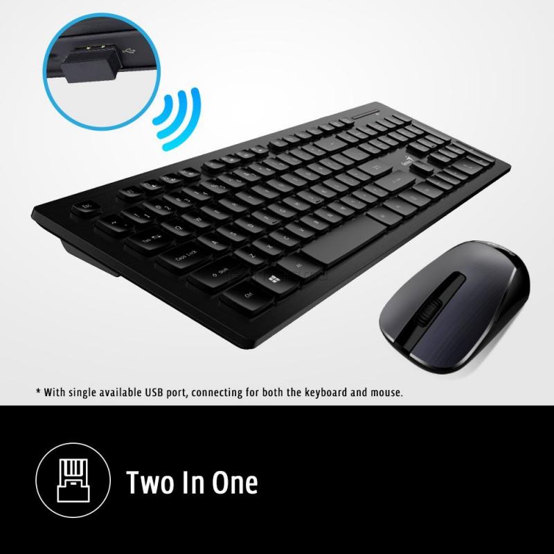 GENIUS SLIMSTAR 8008 Tastatură + mouse