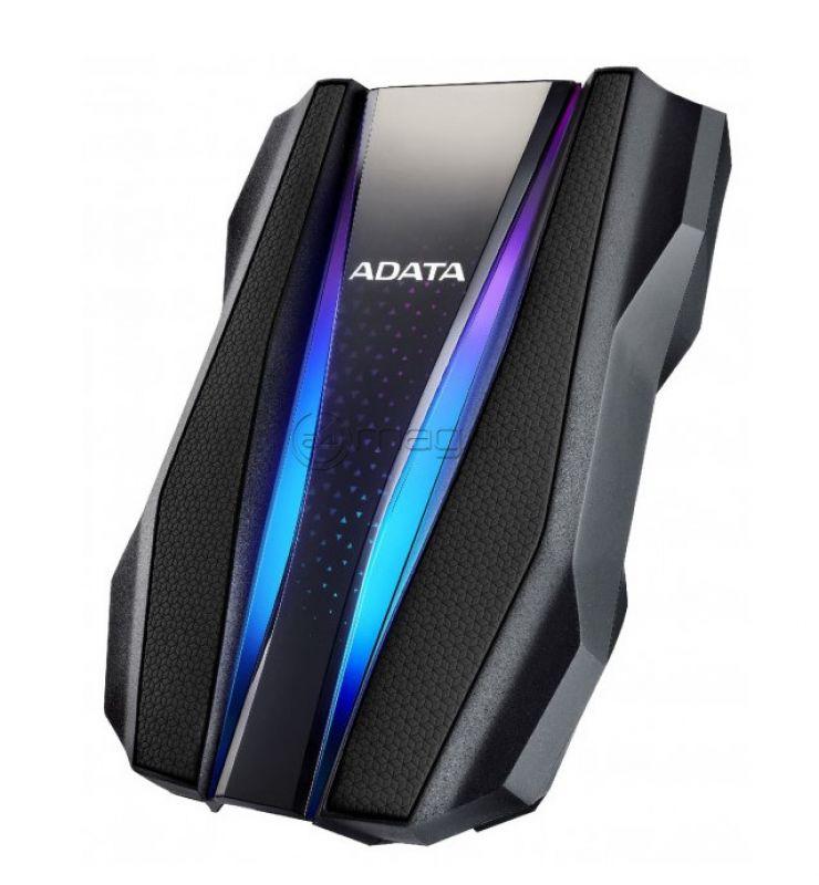 "ADATA HD770G RGB IP68 RUGGED AHD770G-2TU32G1-CBK HDD 2.0 TB 2.5"" Black"