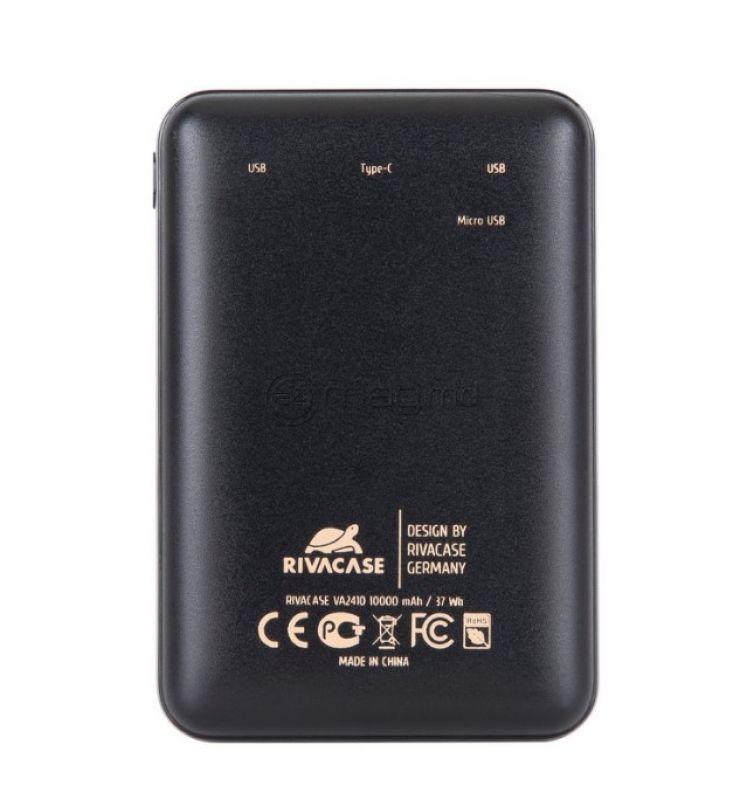 RIVACASE VA2410 USB 10000 mAh Type-C
