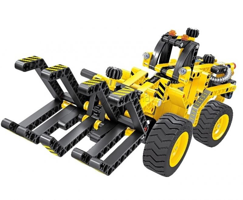 QIHUI CONSTRUCTION TIMBER CRAB & DUNE BUGGY 6804 plastic