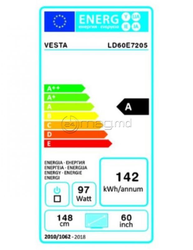 """VESTA LD60E7205 60"""" smart TV Android"""