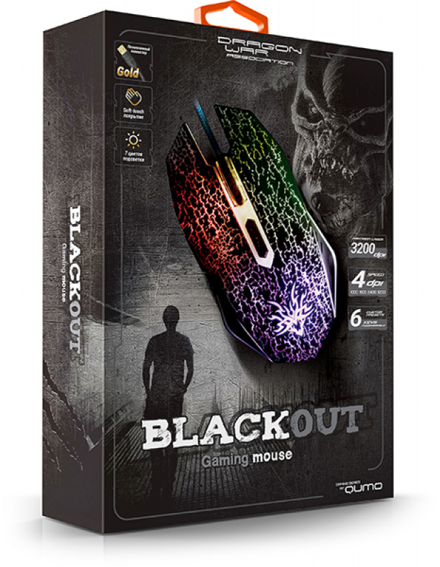 QUMO BLACKOUT optic gaming