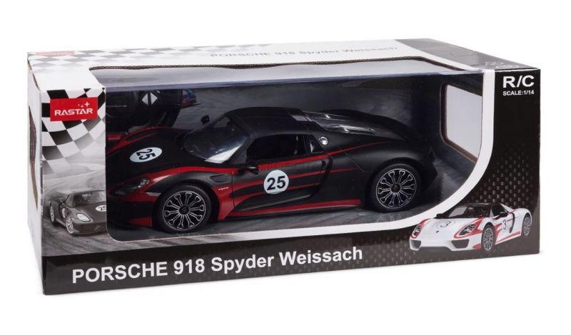 RASTAR PORSCHE 918 SPYDER PERFORMANCE teleghidata Porsche