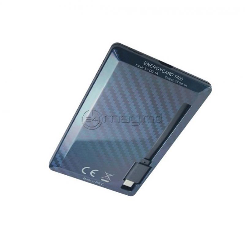 TUNCMATIK ENERGYCARD micro USB 1400 mAh