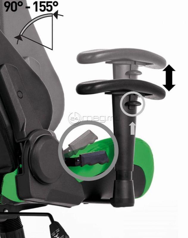 HEXTER ML R1D Negru verde