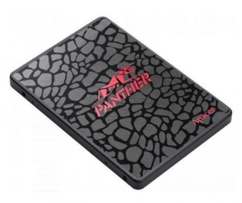 """APACER AS350 SSD 2.5"""" Black-Red 512 Гб"""
