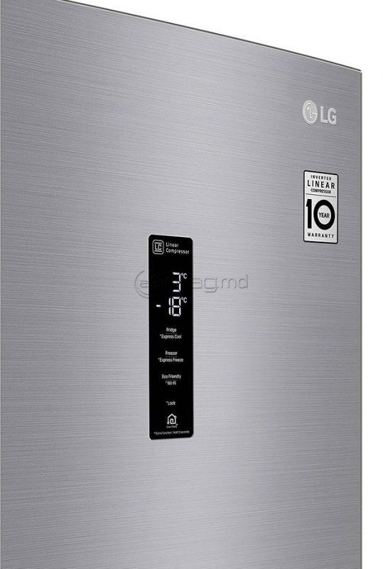 LG GA-B509MMQZ argintiu Inox
