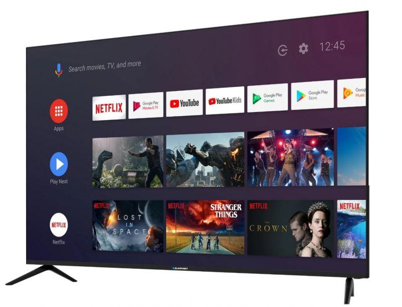 """BLAUPUNKT 55UN265 55"""" smart TV Android Bluetooth"""