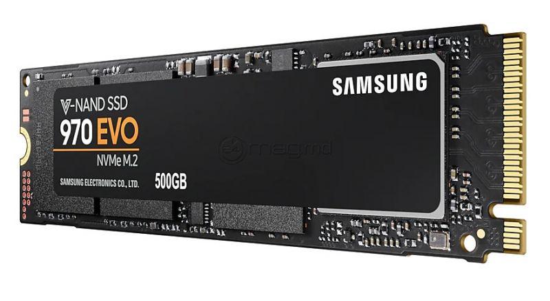 SAMSUNG 970 EVO SSD negru 500 Gb M.2