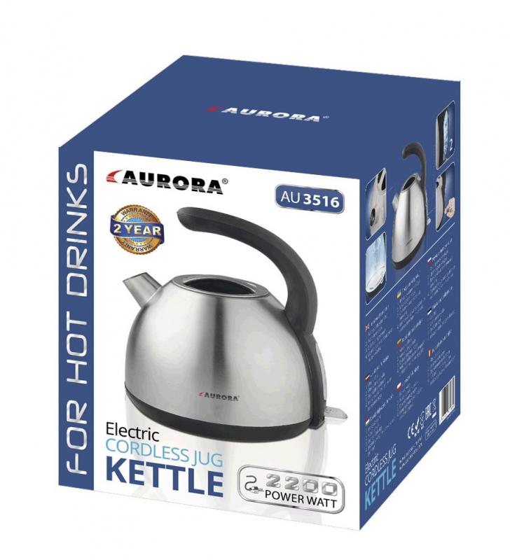 AURORA AU3516 oțel inoxidabil 1.7l