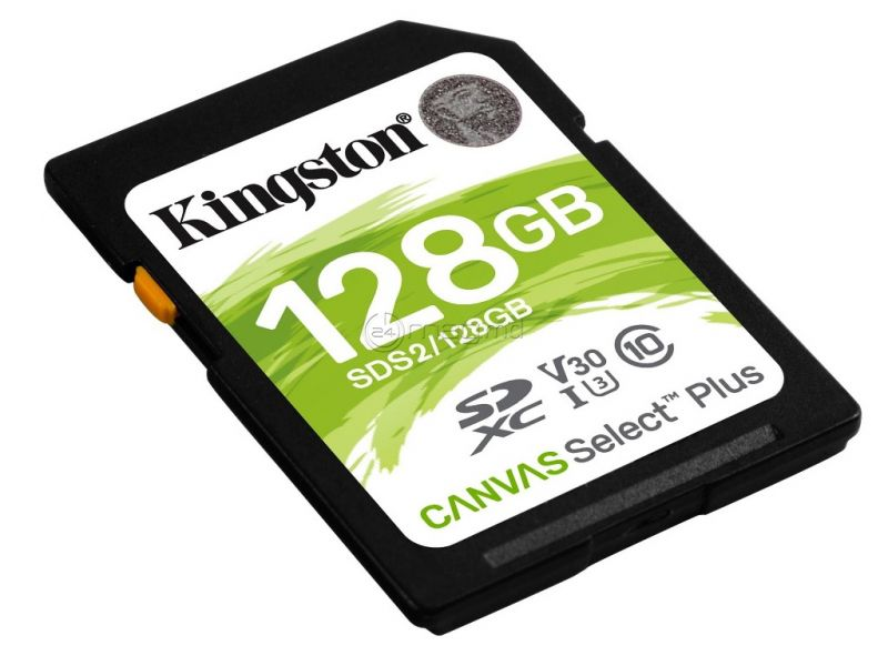 KINGSTON CANVAS SELECT PLUS 128 Gb
