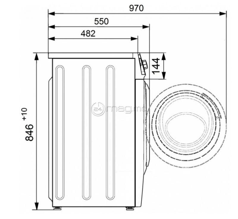 ATLANT СМА 70С1210-A-00 7kg