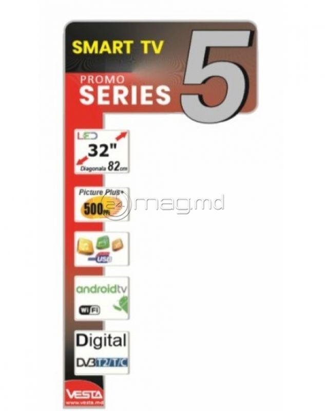 """VESTA LD32E5202 32"""" smart TV Android"""
