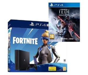 SONY PLAYSTATION 4 PRO 1TB + FORTNITE NEO VERSA BUNDLE + STAR WARS JEDI FALLEN ORDER
