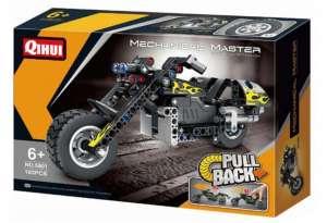QIHUI PULL BACK MOTORBIKE 5801 plastic