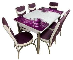 EC-103 6 scaune masă