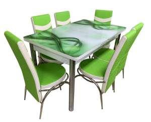 EC-110 masă 6 scaune