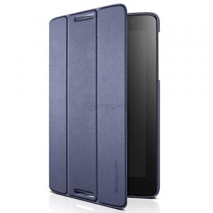 LENOVO A8 A5500 FOLIO CASE albastru