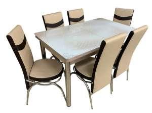 EC-106 masă 6 scaune