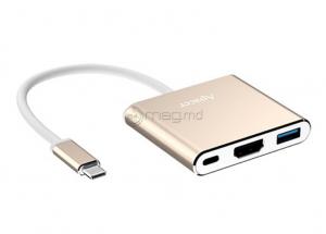 APACER APDH610C-1 Type-C USB HDMI USB-hub