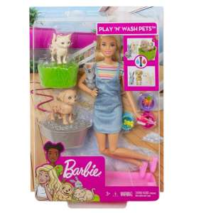 BARBIE PLAY AND WASH PETS FXH11
