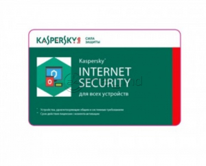 KASPERSKY INTERNET SECURITY CARD 1 an