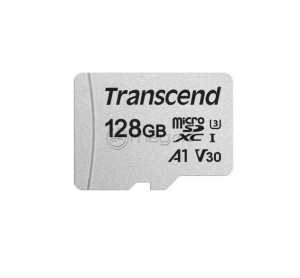 TRANSCEND TS128GUSD300S+SD ADAPTER 128 Gb