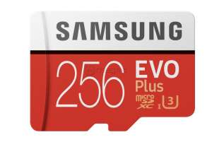 SAMSUNG EVO PLUS MB-MC256HA 256 Gb