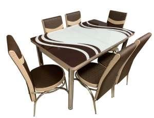EC-109 masă 6 scaune