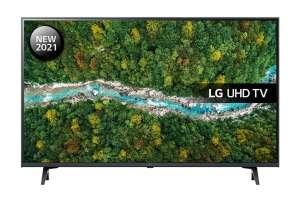 "LG 43UP77006LB 43"" smart TV Bluetooth"