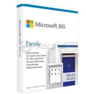 MICROSOFT 365 FAMILY engleză 1 an