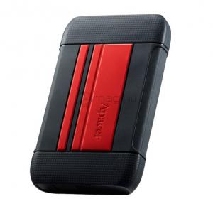"""APACER AC633 HDD negru rosu 2.5"""" 1.0 TB USB 3.1"""