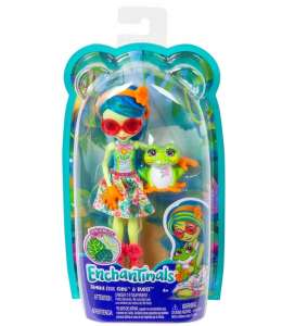 ENCHANTIMALS TAMIKA TREE FROG & BURST GFN43
