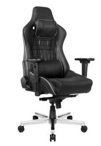AKRACING MASTER PRODELUXE REAL LEATHER Negru