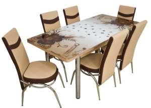 EC-112 masă 6 scaune