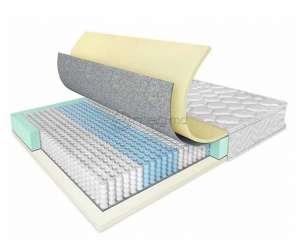 SALTCONFORT POCKET SPRING+MEMORY 200x100x25 memory ortopedica Pocket Spring
