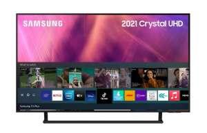"SAMSUNG UE50AU9000UXUA 50"" smart TV Bluetooth"