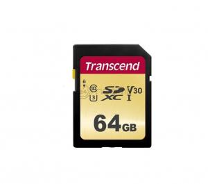 TRANSCEND TS64GSDC500S 64 Gb