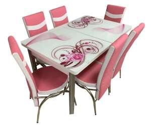 EC-111 masă 6 scaune