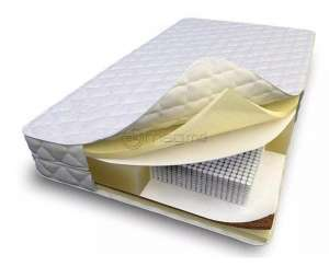 SALTCONFORT POCKET +LATEX 200x70x25 ortopedica Pocket Spring