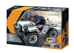 QIHUI PULL BACK POLICE CAR 5805 plastic