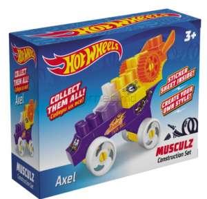 BAUER HOT WHEELS MUSCULZ AXEL 00710 plastic