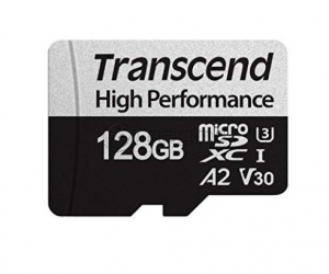 TRANSCEND TS128GUSD330S+SD ADAPTER 128 Gb