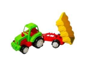 BURAK TOYS 04542 Remorca Super tractor