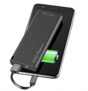 CELLULAR LINE HD POLIMER USB 5000 mAh
