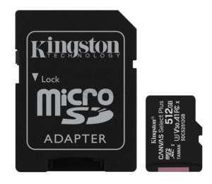 KINGSTON CANVAS SELECT+ 512 Gb