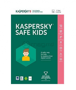 KASPERSKY SAFE KIDS CARD 1 an