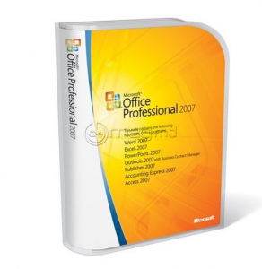 MICROSOFT OFFICE PRO 2007 engleză