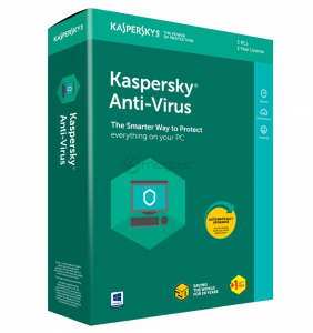 KASPERSKY ANTI-VIRUS CARD 1 an