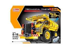 QIHUI CONSTRUCTION DUMP TRUCK & PLANE 6802 plastic